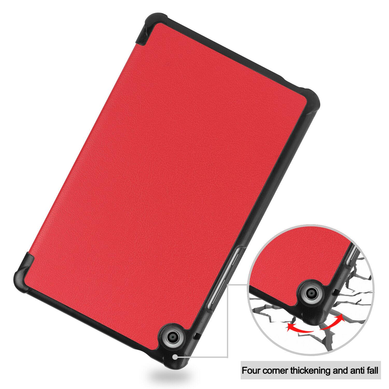 miniature 34 - Smart Cover pour Huawei Matepad T8 8.0 Pouces Étui de Protection Slim Coque Sac