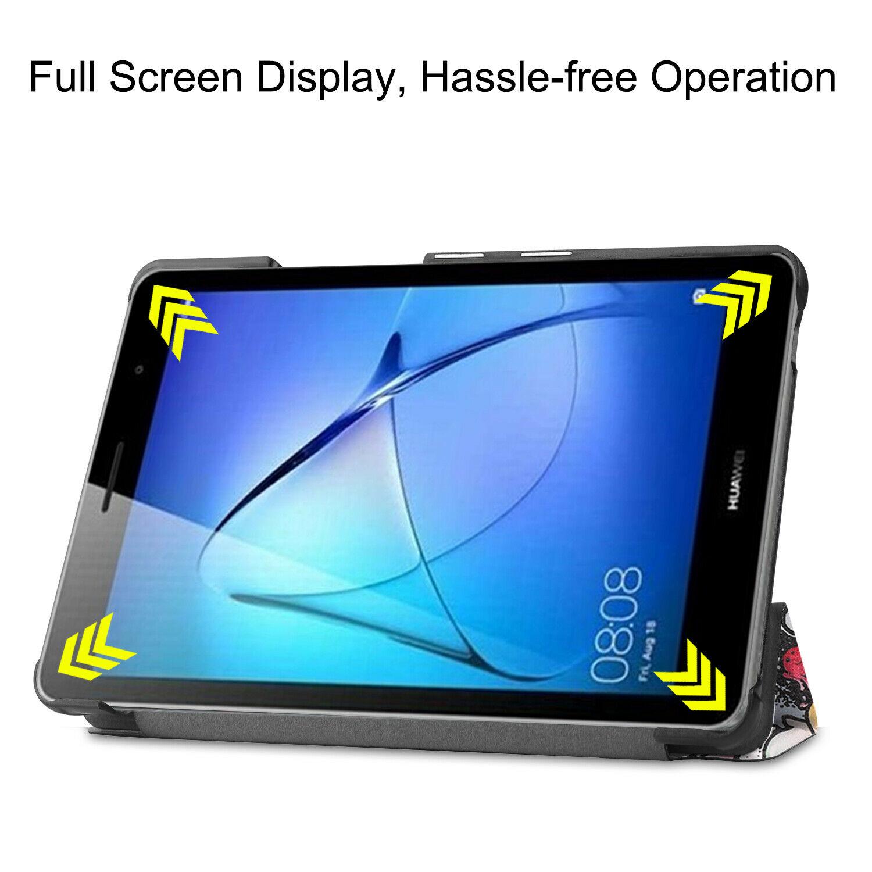 miniature 85 - Smart Cover pour Huawei Matepad T8 8.0 Pouces Étui de Protection Slim Coque Sac