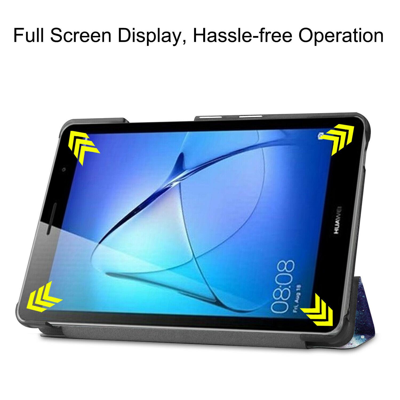miniature 76 - Smart Cover pour Huawei Matepad T8 8.0 Pouces Étui de Protection Slim Coque Sac