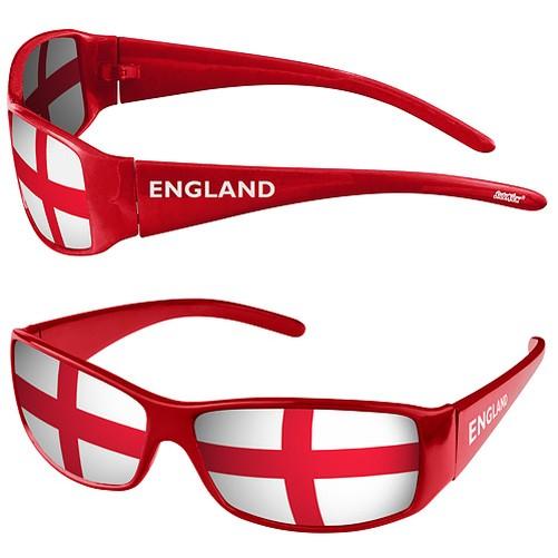 Elegante-Sport-Gafas-de-sol-mercancias-Wm-amp-EM-PA-SES-Banderas-Banderas-Style