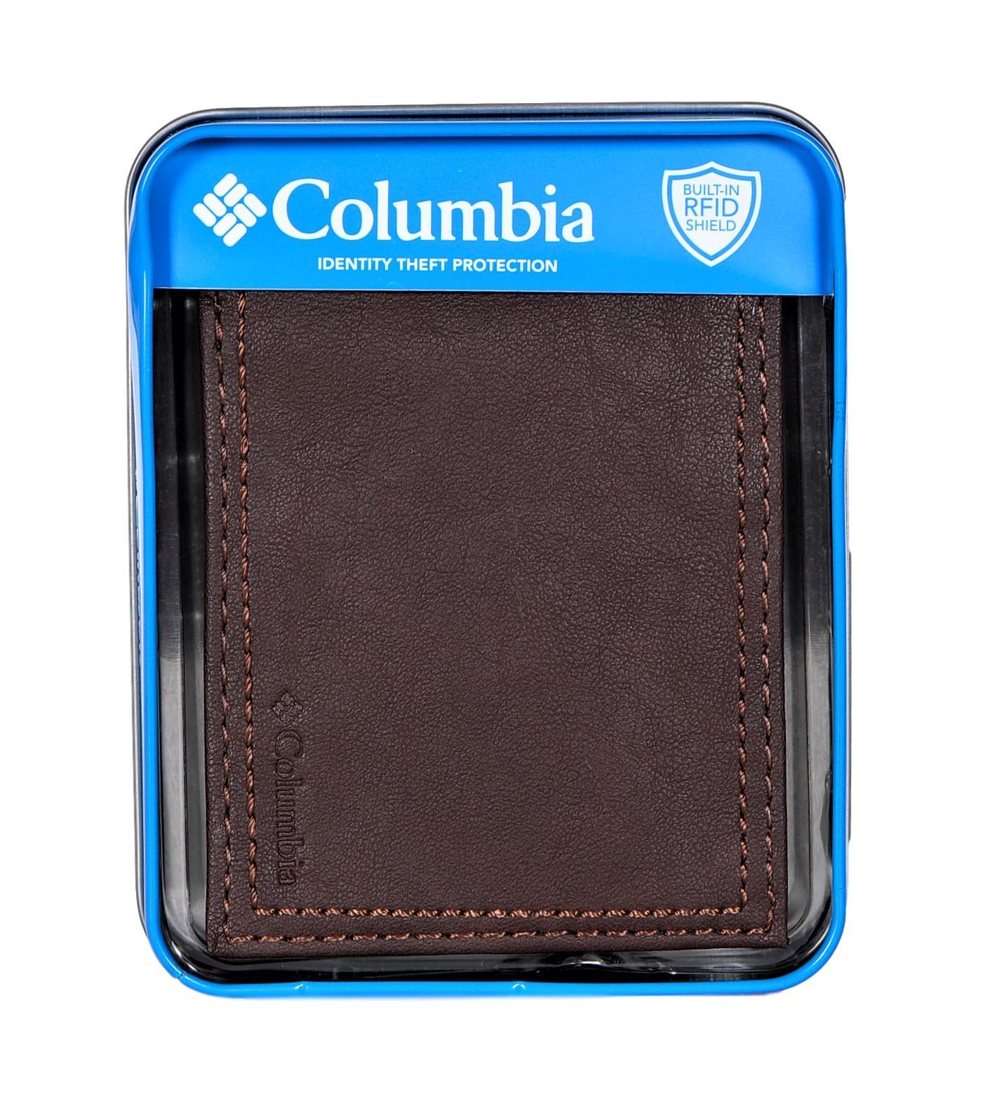 Columbia-Herren-Rfid-Sicherheit-Sperrung-Geldboerse-Integrierter-Shield-Geldboerse Indexbild 15
