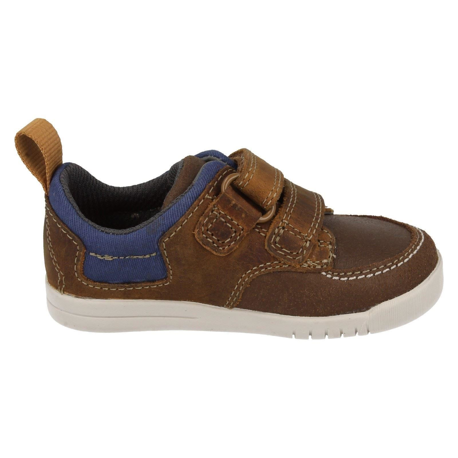 Infant Boys Clarks First Casual Shoes Crazy Jay | eBay
