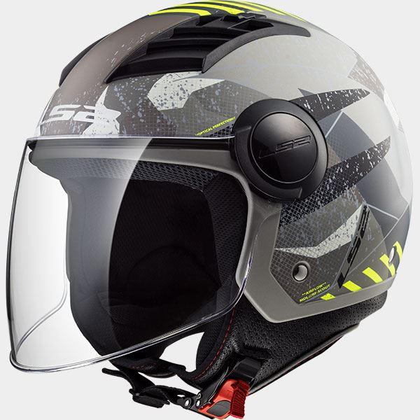 LS2-OF562-Flujo-De-Aire-Urban-DOWNTOWN-Abierto-Moto-Scooter-Casco-Jet