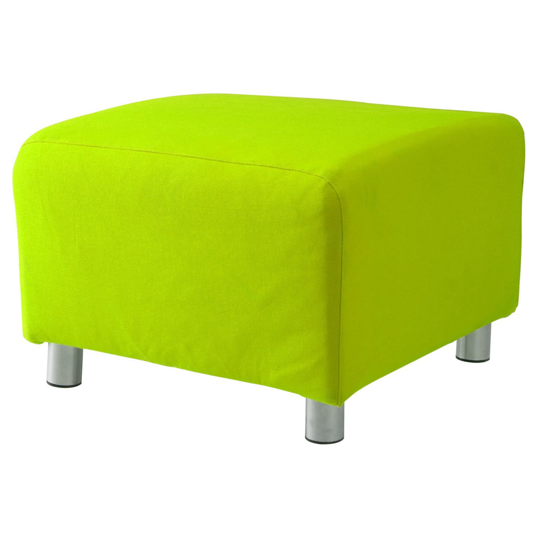 personnalis rev tement pour ikea klippan repose pieds 100 cotton housse canap ebay. Black Bedroom Furniture Sets. Home Design Ideas