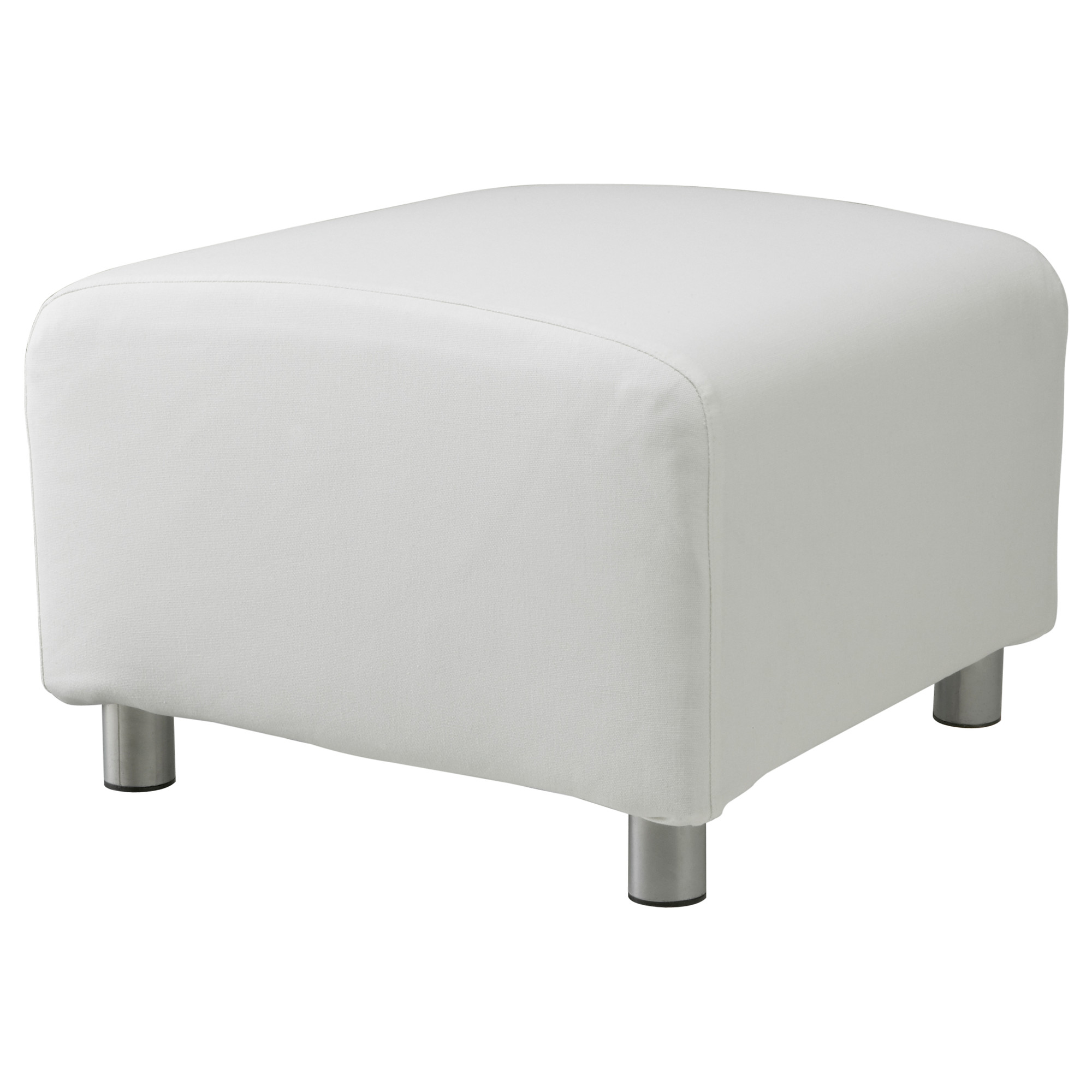 custom slip cover for ikea klippan footstool 100 cotton sofa cover foot stool ebay. Black Bedroom Furniture Sets. Home Design Ideas