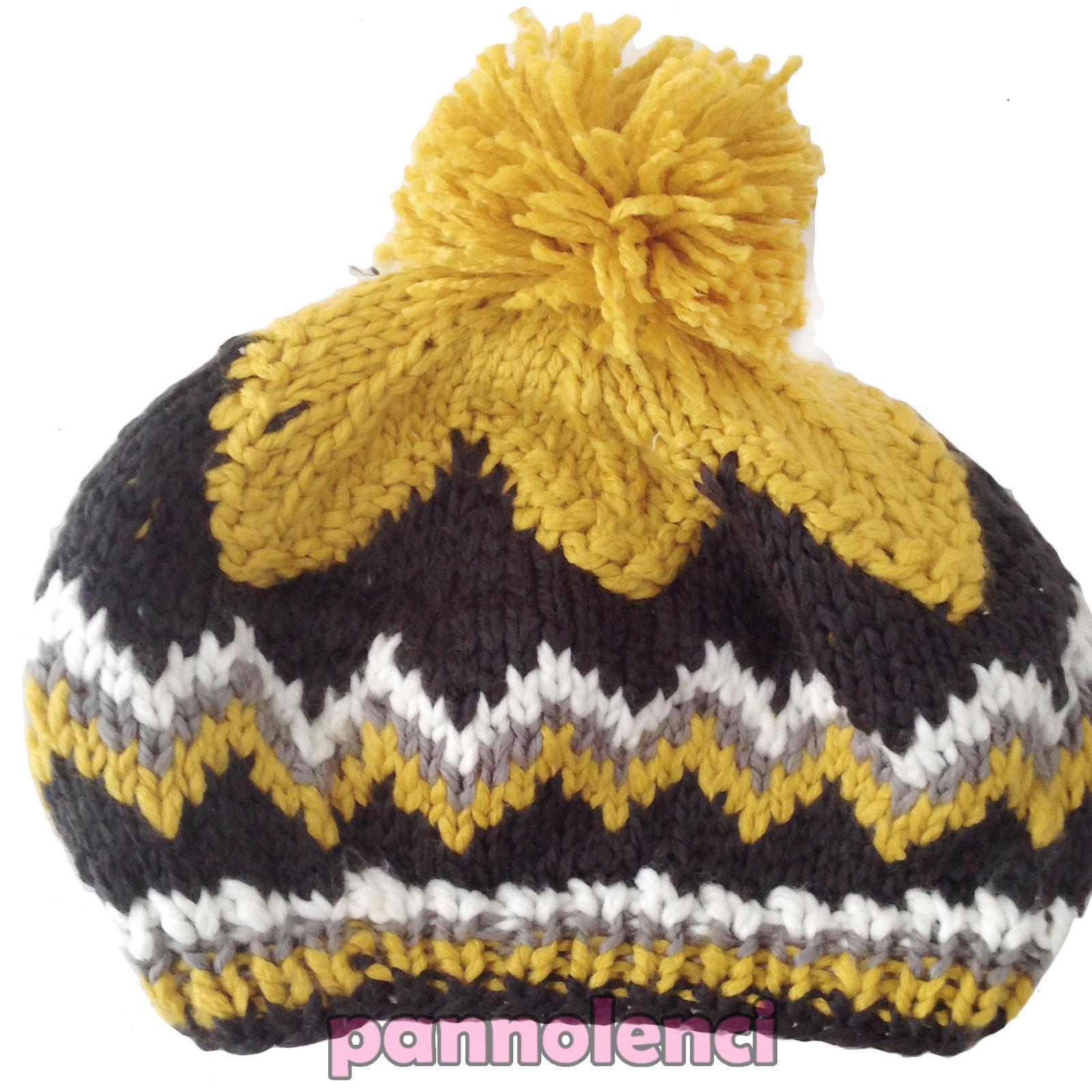 Femme-Chapeau-Tricot-Hivernal-Pompon-Casquette-Neuf-Idee-Cadeau-As-123 縮圖 6