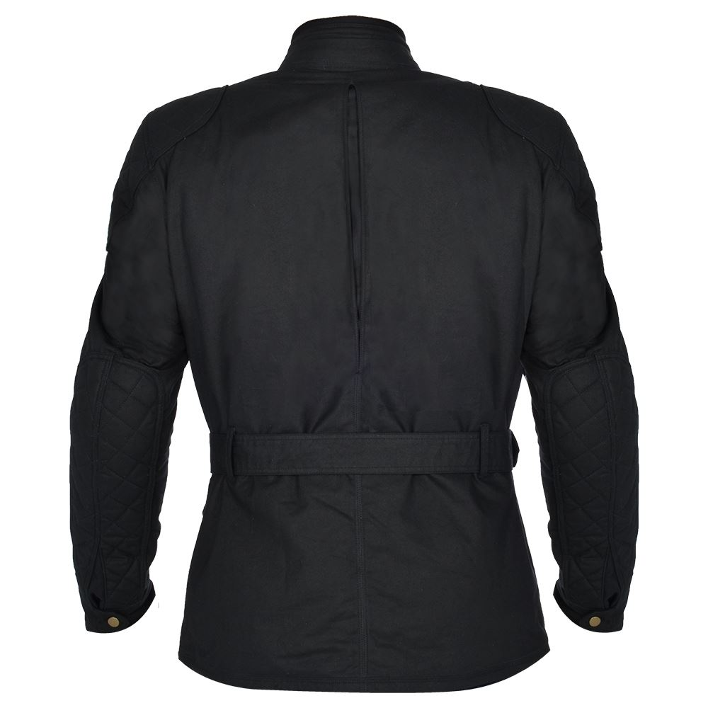 Oxford-Bradwell-Cire-Premium-Veste-moto-avec-impermeable-membrane