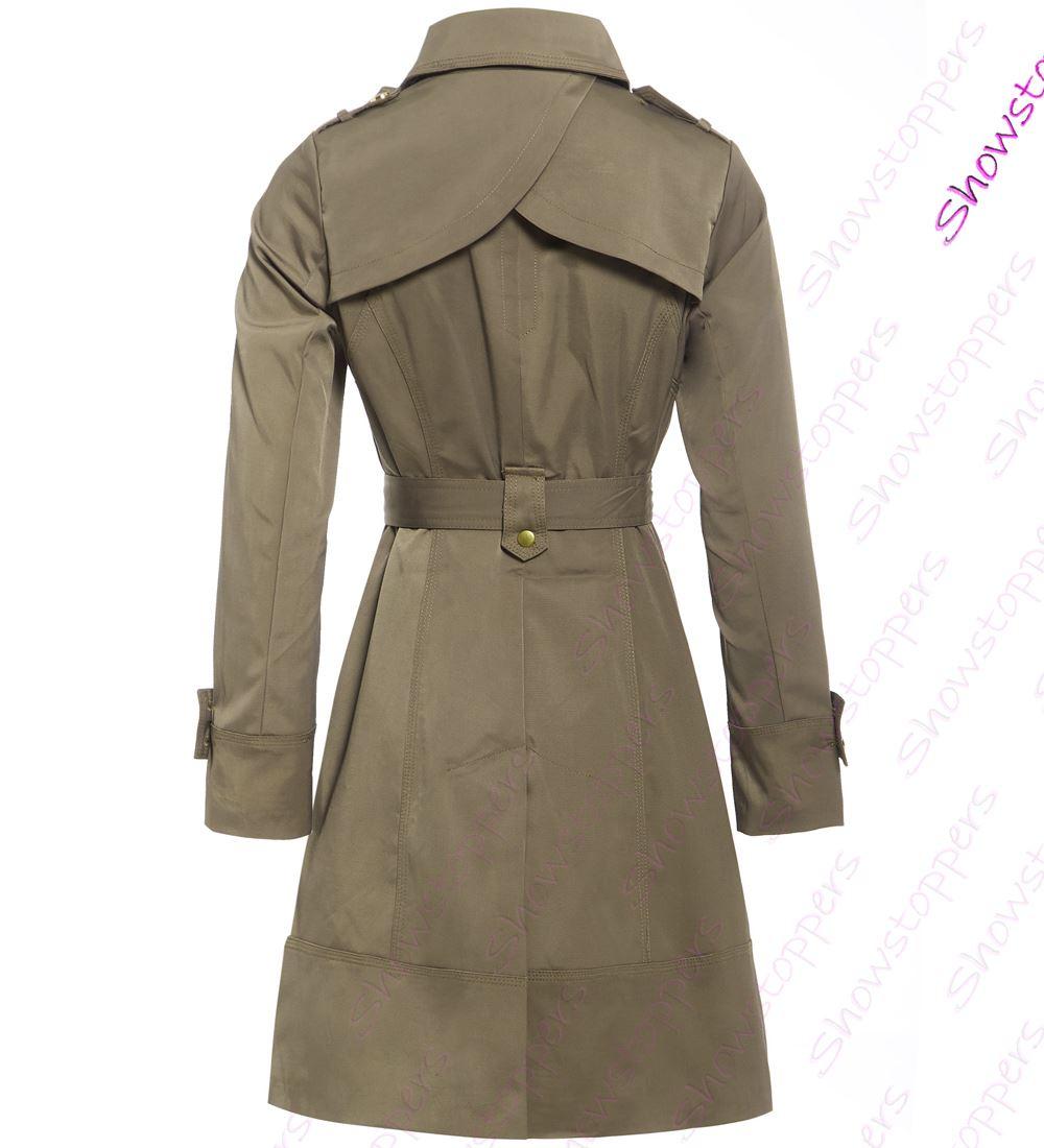 donna cappotto di lana donna giacca trench taglia 8 10 12 14 16 rosso