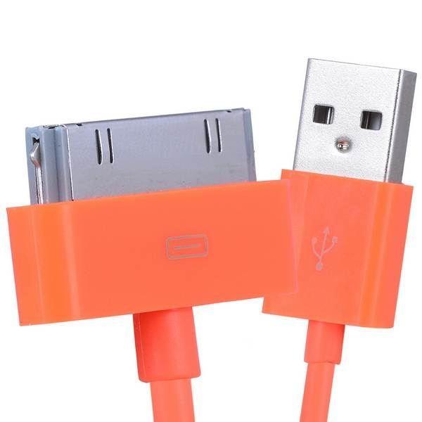 1-x-2x-colorful-1m-30-Pin-USB-SINCRONIZZAZIONE-DATI-CARICABATTERIA-CAVO