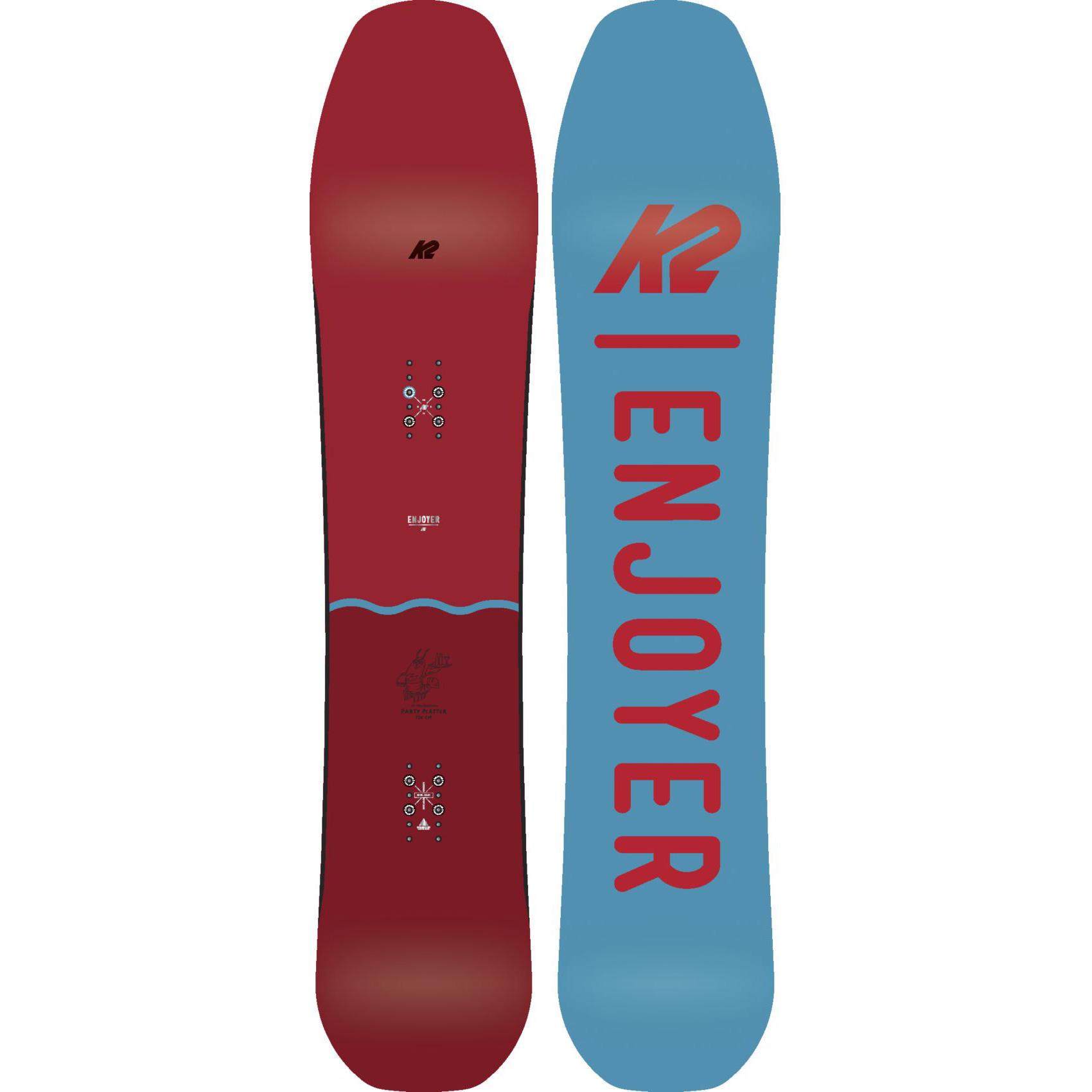 K2 Snowboard - Fête Platter - Toutes - Montagnes,Piste,Freestyle,Volume Shift - Toutes 20 f4d4b8