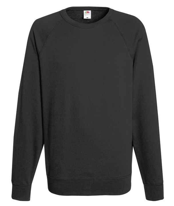 Pull-ras-du-cou-LUMIERE-FRUIT-OF-THE-LOOM-couleurs-variees-HOMME-manches-RAGLAN