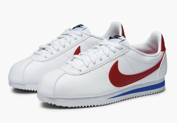 1802 Sportschuhe Nike Klassisch Cortez Leder Damen Sneakers Sportschuhe 1802 807471-103 2c9adf