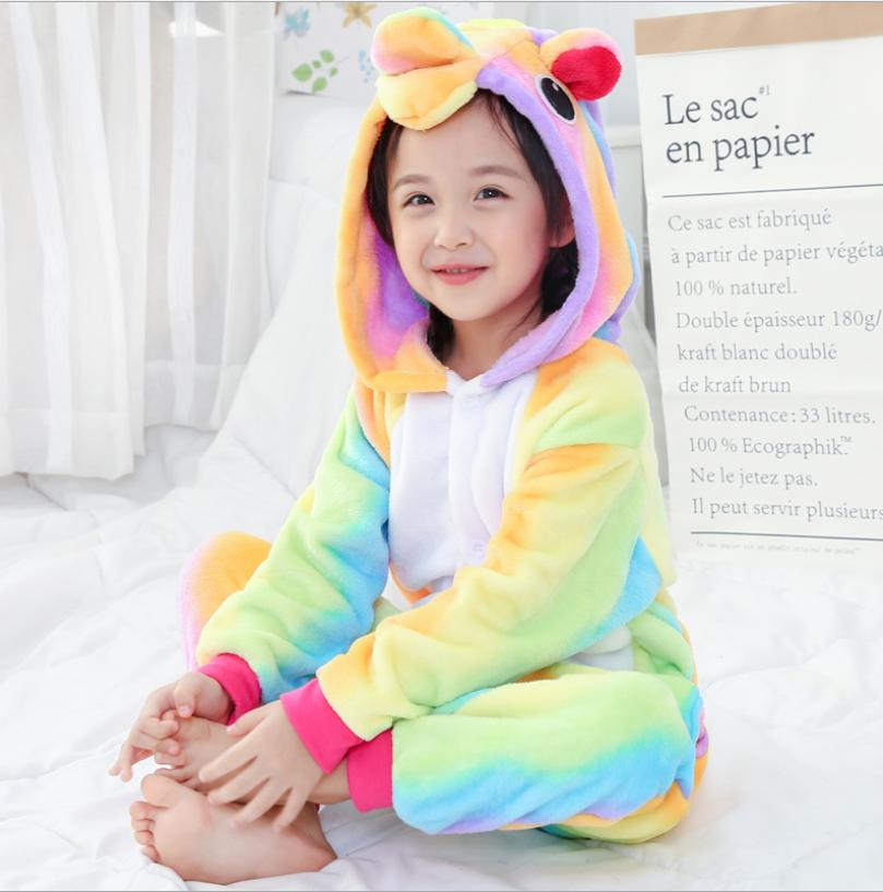 Détails Emmarcon Auprès Sur Kigurumi Pyjamas Maillot De Costume Bain D'enfants Animale QtCsrdhxB