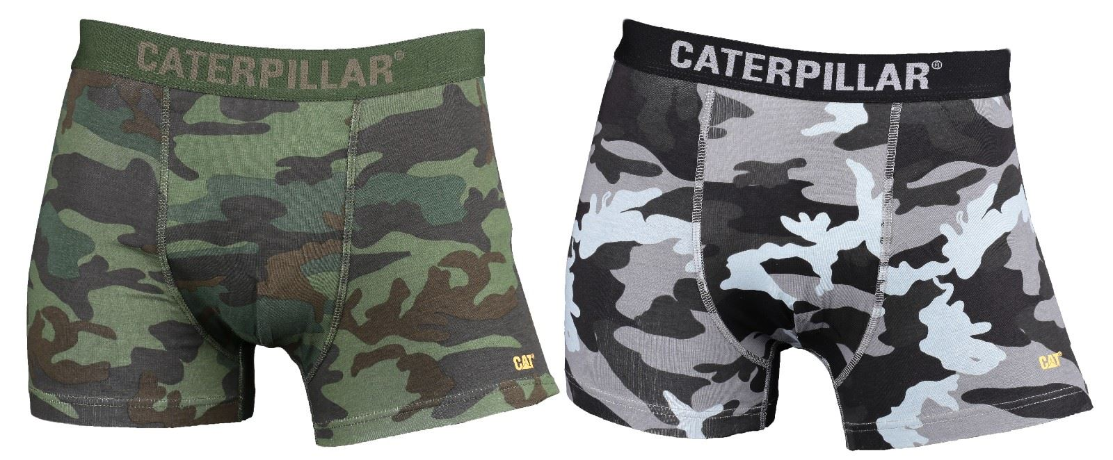 Caterpillar mutande In gatto Camo Pack gatto 2 Di marca Boxer corti