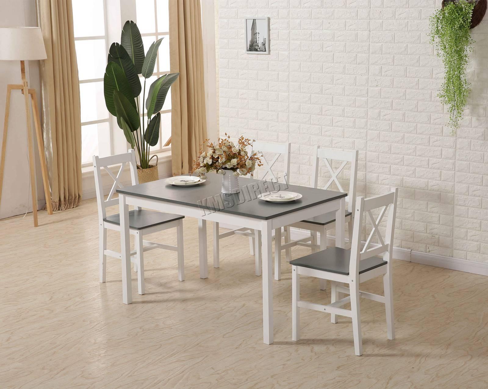 Westwood qualit t massiv holz esszimmer tisch und 4 st hle for Tisch und stuhle esszimmer