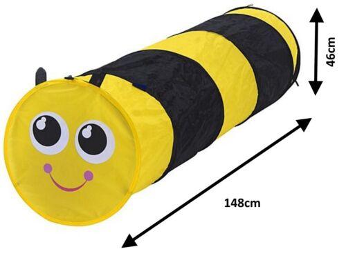 Animal-Infantil-Plegable-Gatear-Tunel-Tubo-Tienda-Juguete-Interior-Exterior miniatura 7