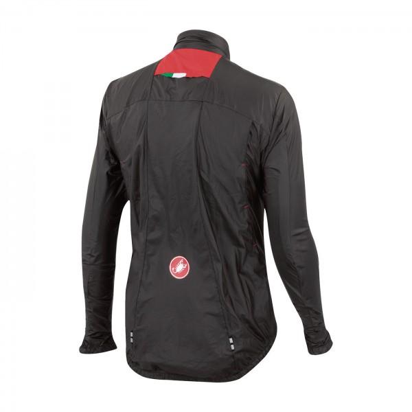 Castelli-VELO-veste-fahrrad-wind-VESTE-DE-PLUIE-NOIR-blanc-Jaune-4514026