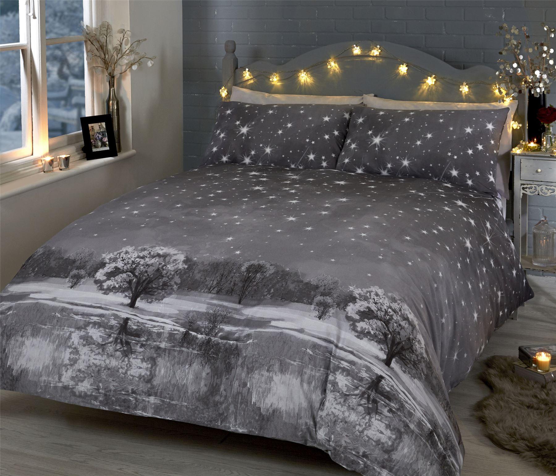 Natale trapunta copripiumino e federa biancheria letto set - Amici di letto chat ...