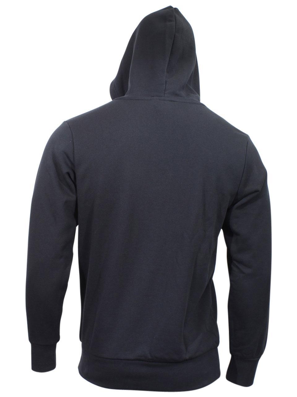 Felpa Pullover Lineare Cappuccio Uomo Logo Con Adidas Essentials pxq4wAn0