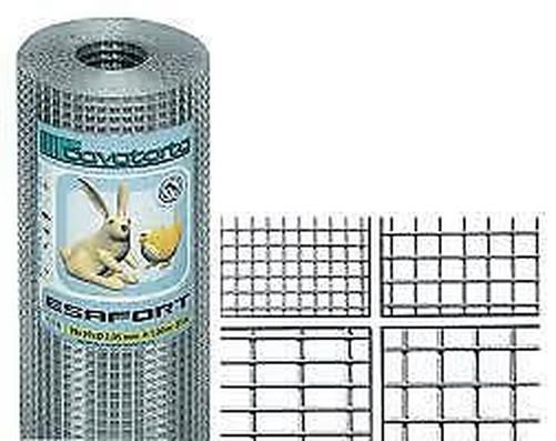 Cavatorta Net agrisald electrosoldada Galvanizado Cm H 100x25 Mt De Malla 19x19 mm
