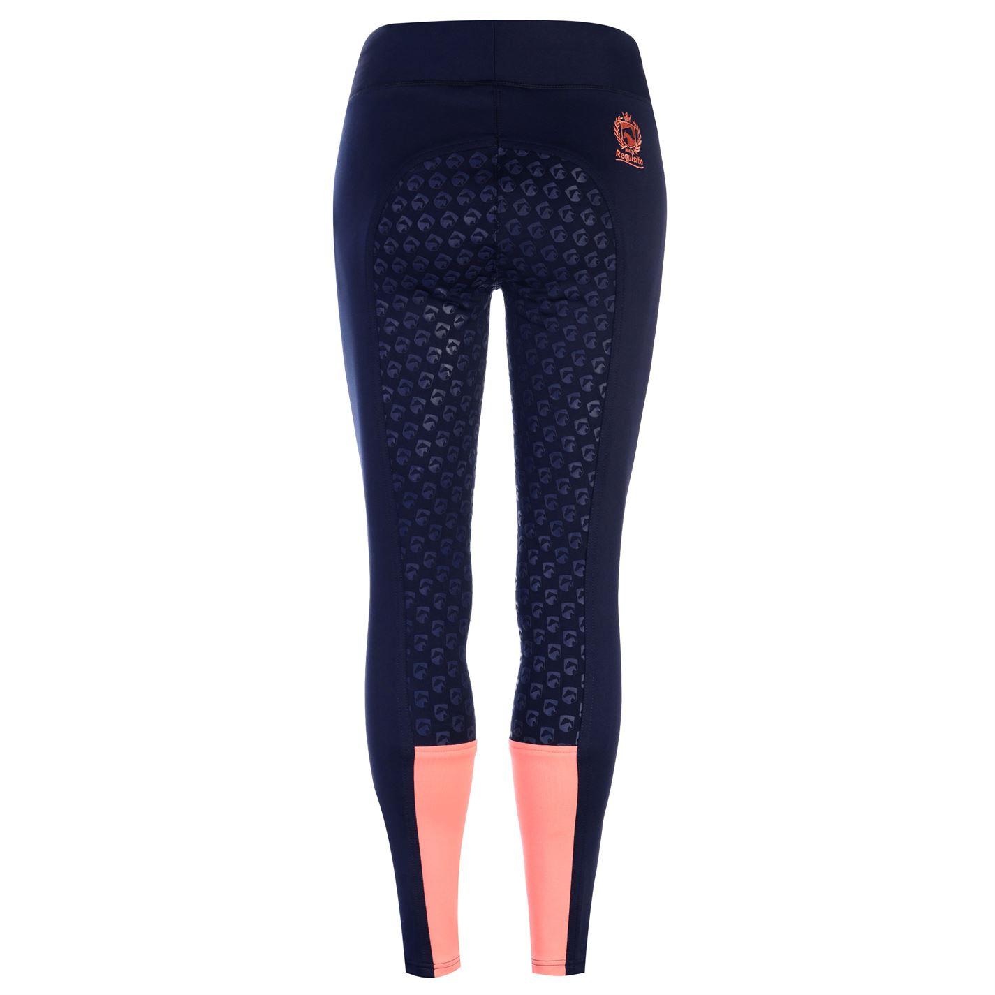 low priced 2fb35 084aa Dettagli su Requisite da Donna Uomo Pantaloni Stile Jodhpurs Alla  Cavallerizza Moto Calze