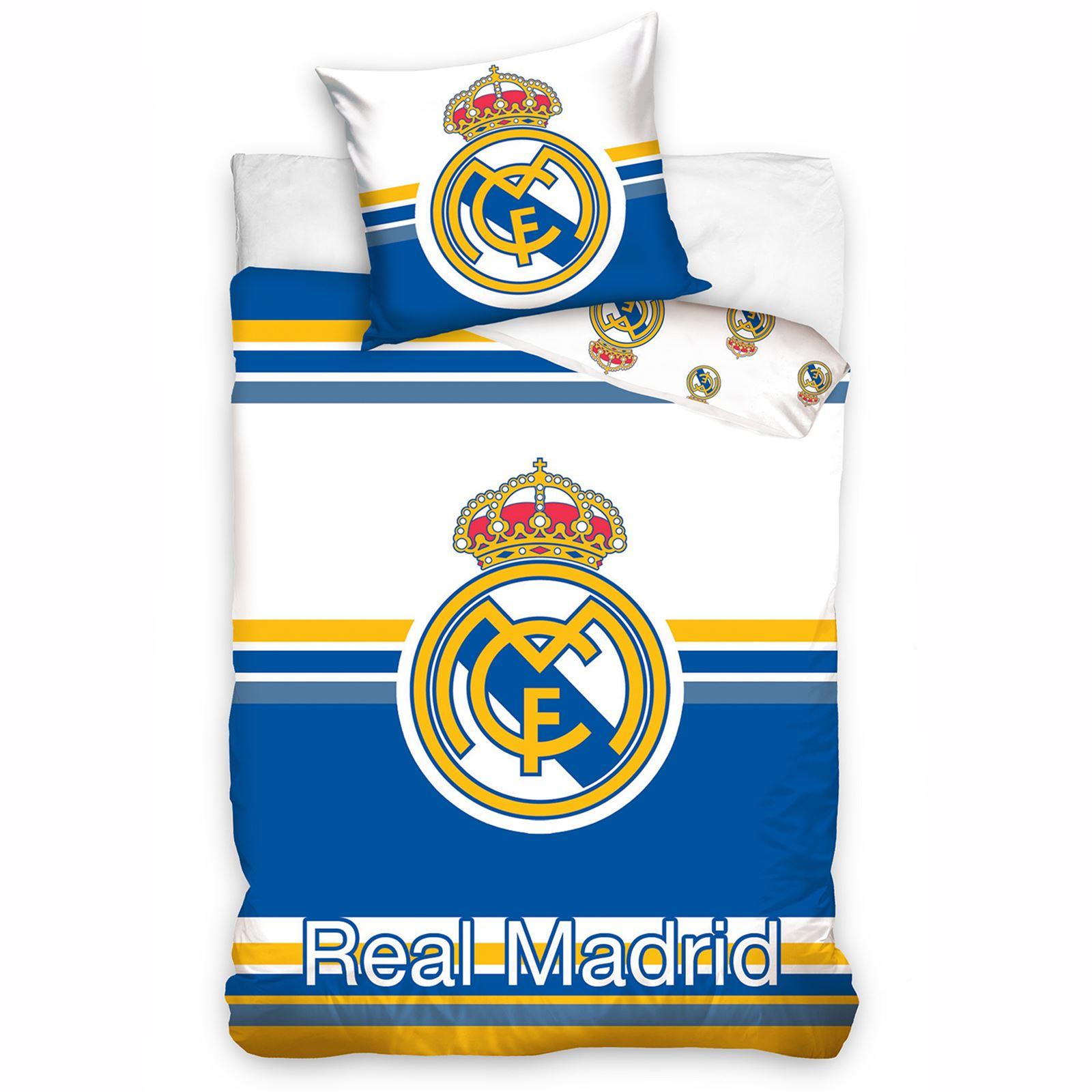 Oficial Real Madrid Individual Amp Doble Funda De Edred 243 N