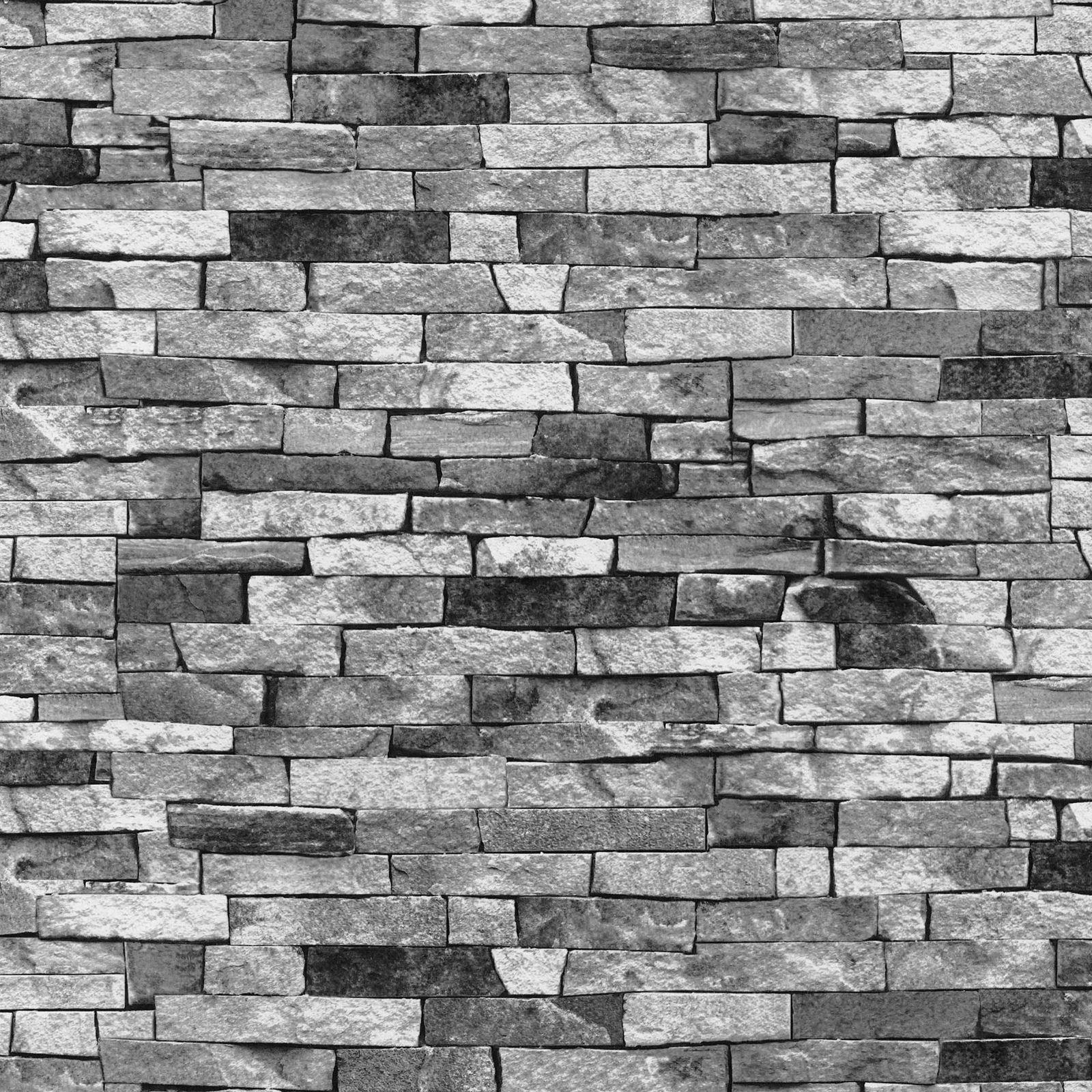 Ardesia muro di pietra effetto carte da parati moderno for Carta da parati effetto muro