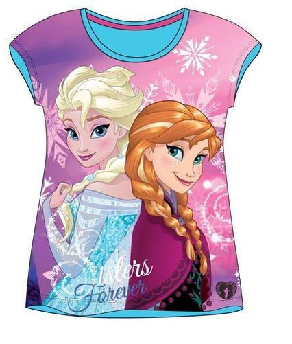 Disney-la-La-Reine-Des-Neiges-T-Shirt-a-manches-courtes