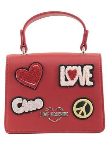 Mujer Parche Love Hello Moschino Crossbody Mini Bolso 5tqqv8w6