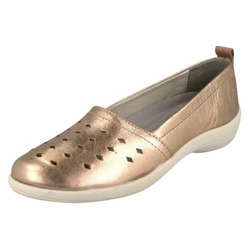 Scarpe  da donna imbottitura - su Leather rava  a buon mercato