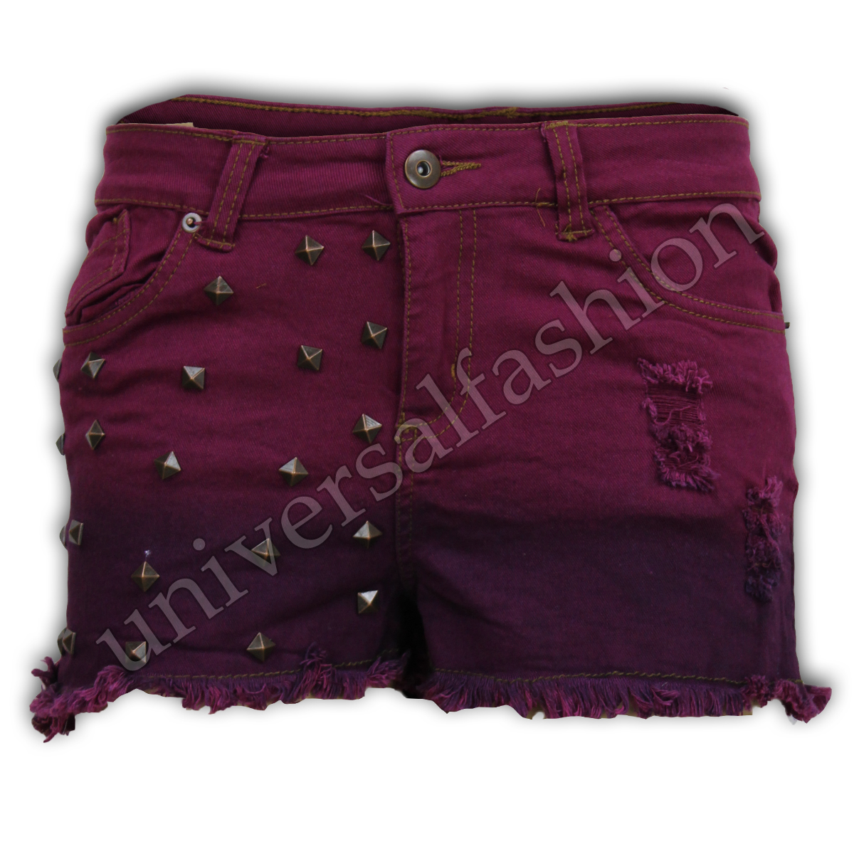 Shorts-de-Dames-Brave-Soul-Femmes-Court-Jeans-Mini-Mode-Decontractee-Ete-Neuf