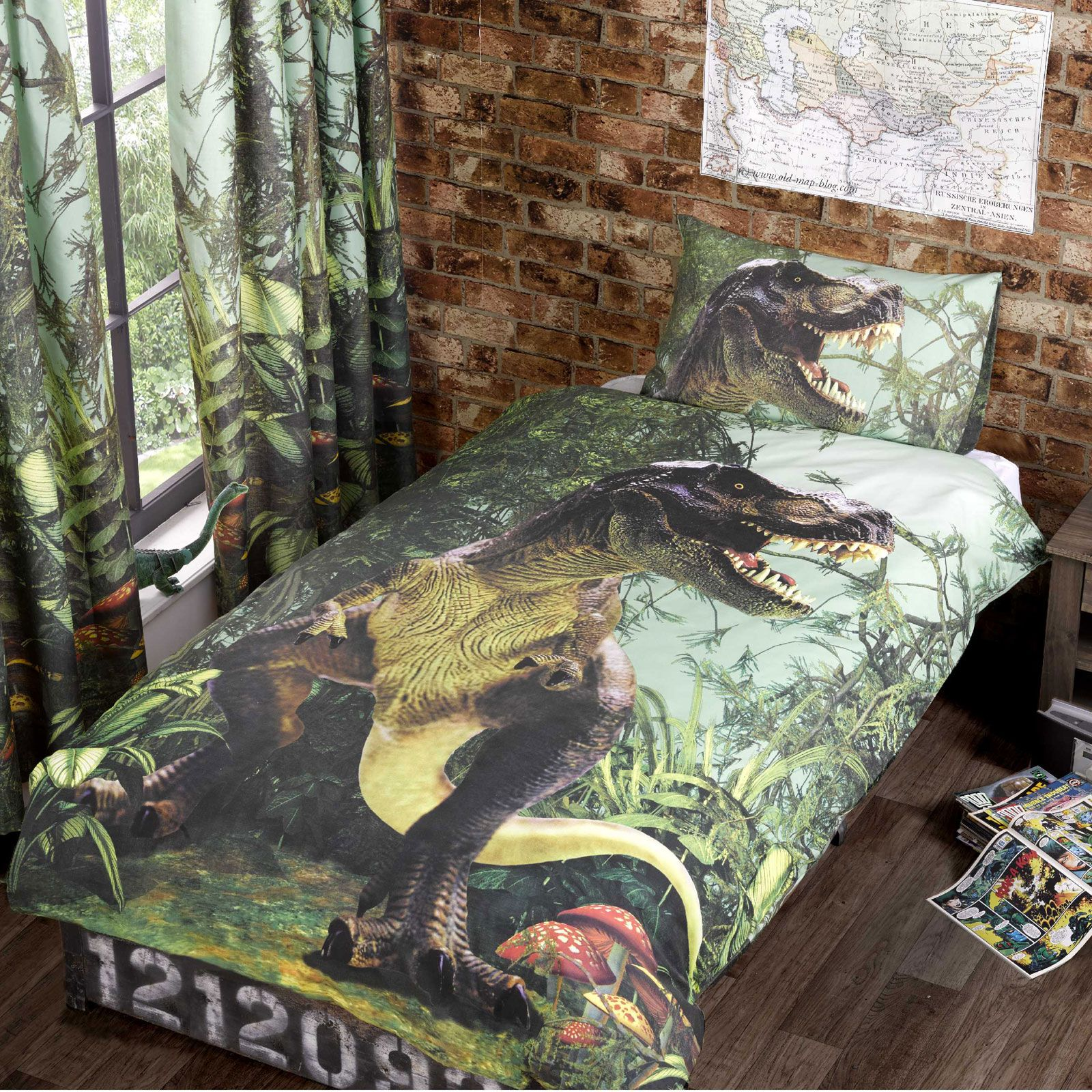 dinosaur bedroom set dinosaur design single amp duvet cover sets boys 11431