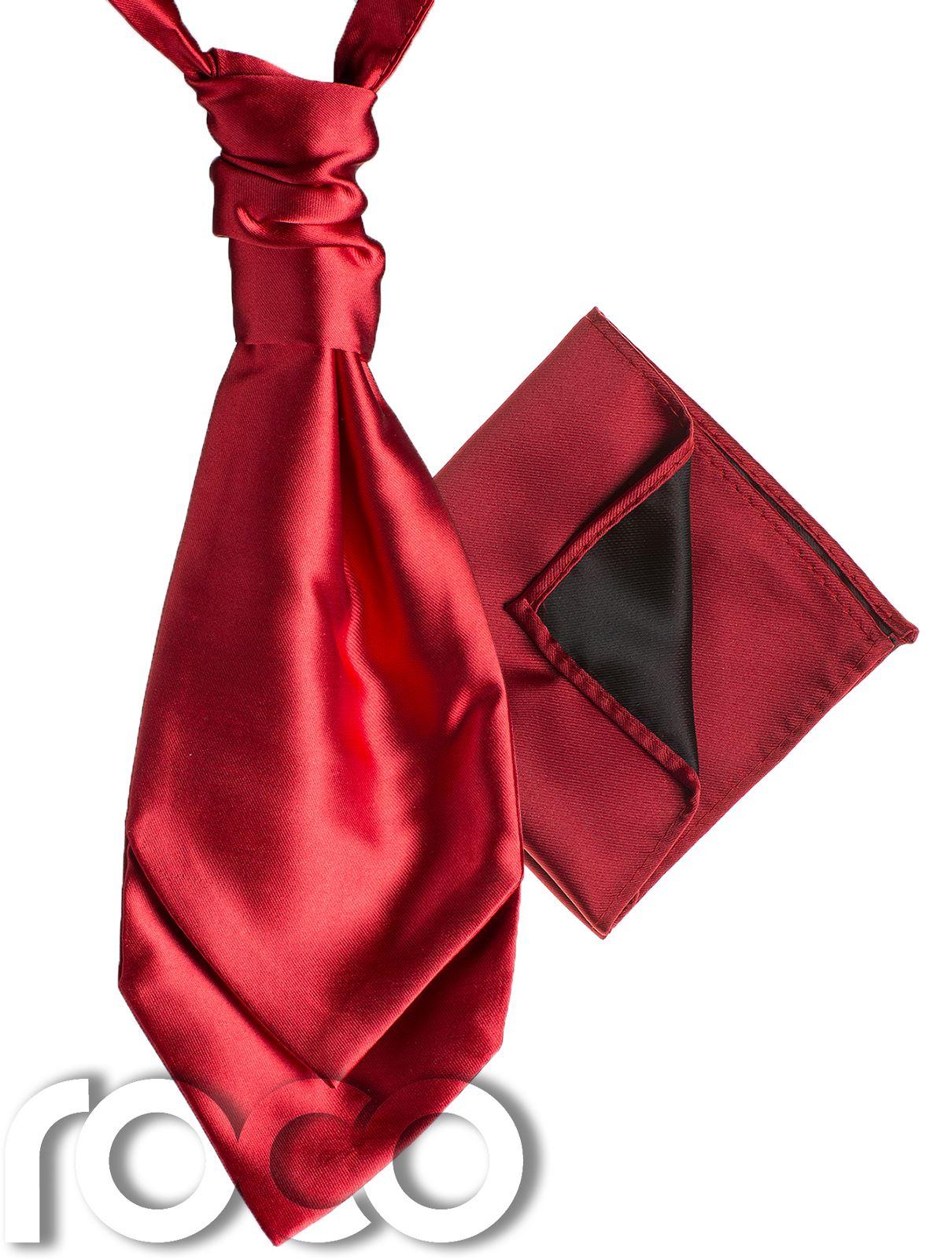 Mens-Satin-Wedding-Ruche-Cravat-Tie-with-hankys-Cravat-for-mens-mens-Cravats thumbnail 10