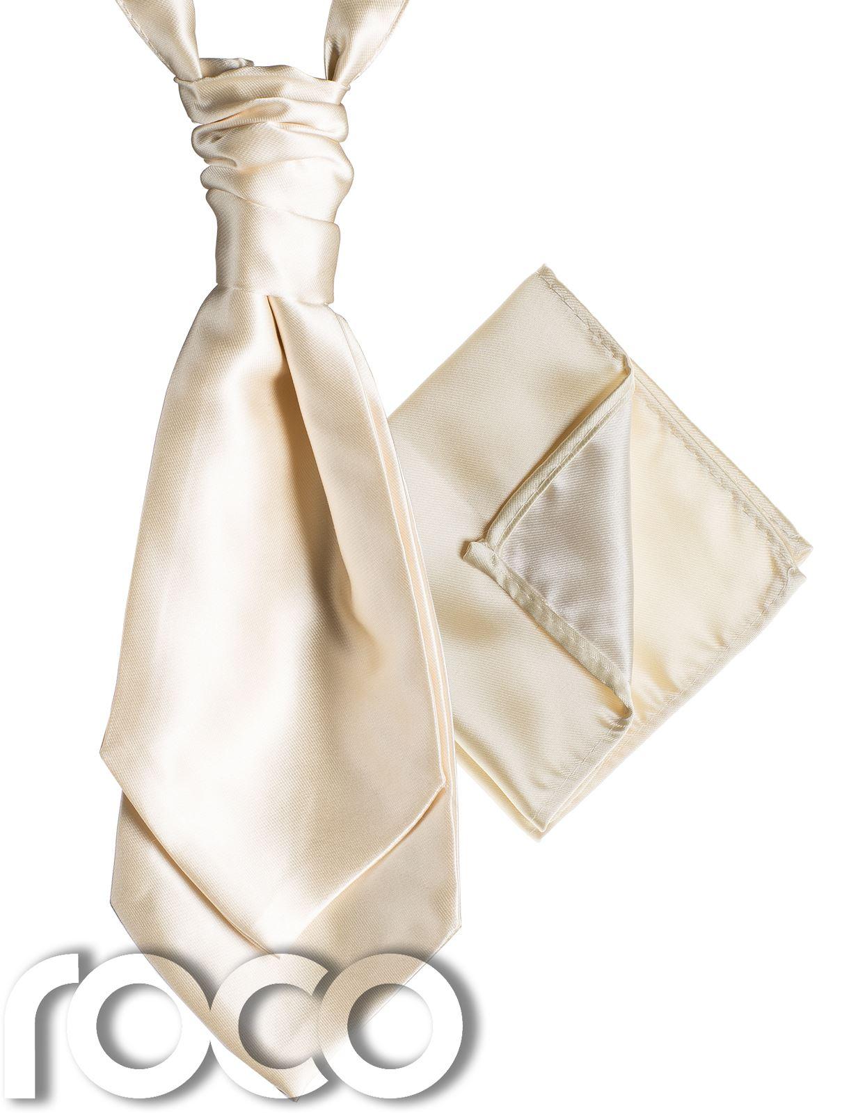 Mens-Satin-Wedding-Ruche-Cravat-Tie-with-hankys-Cravat-for-mens-mens-Cravats thumbnail 6