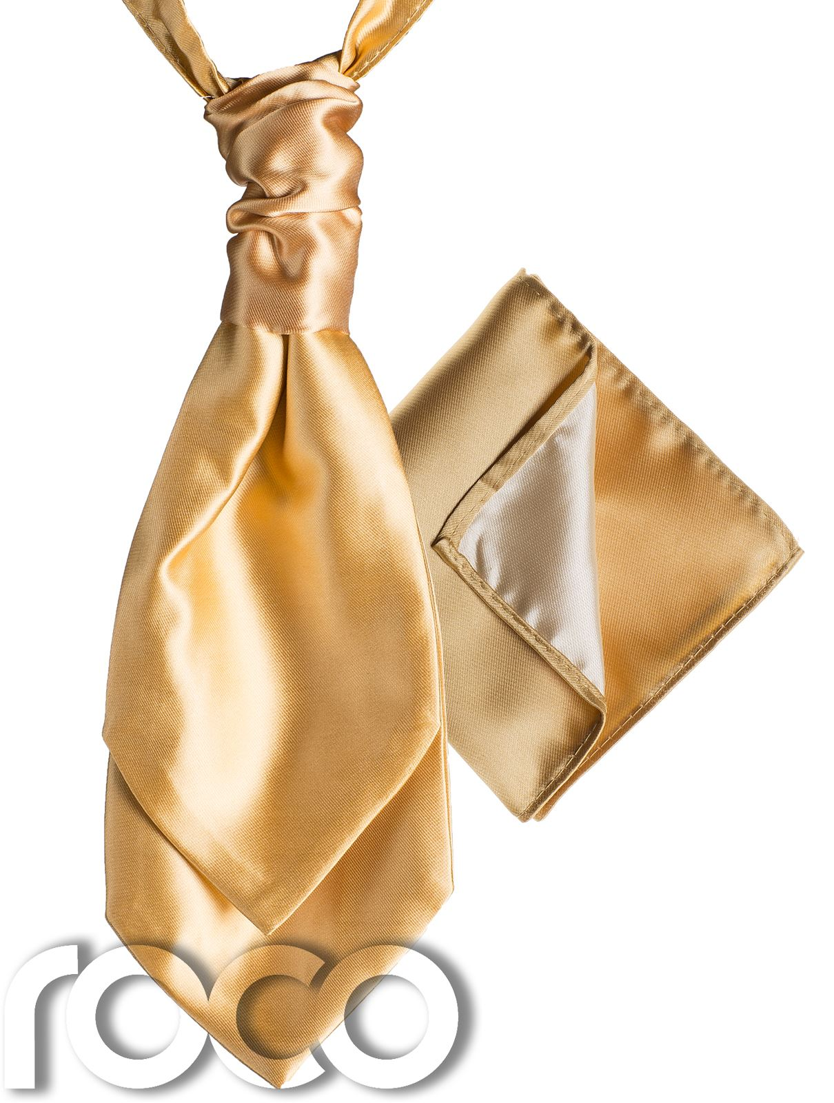 Mens-Satin-Wedding-Ruche-Cravat-Tie-with-hankys-Cravat-for-mens-mens-Cravats thumbnail 5