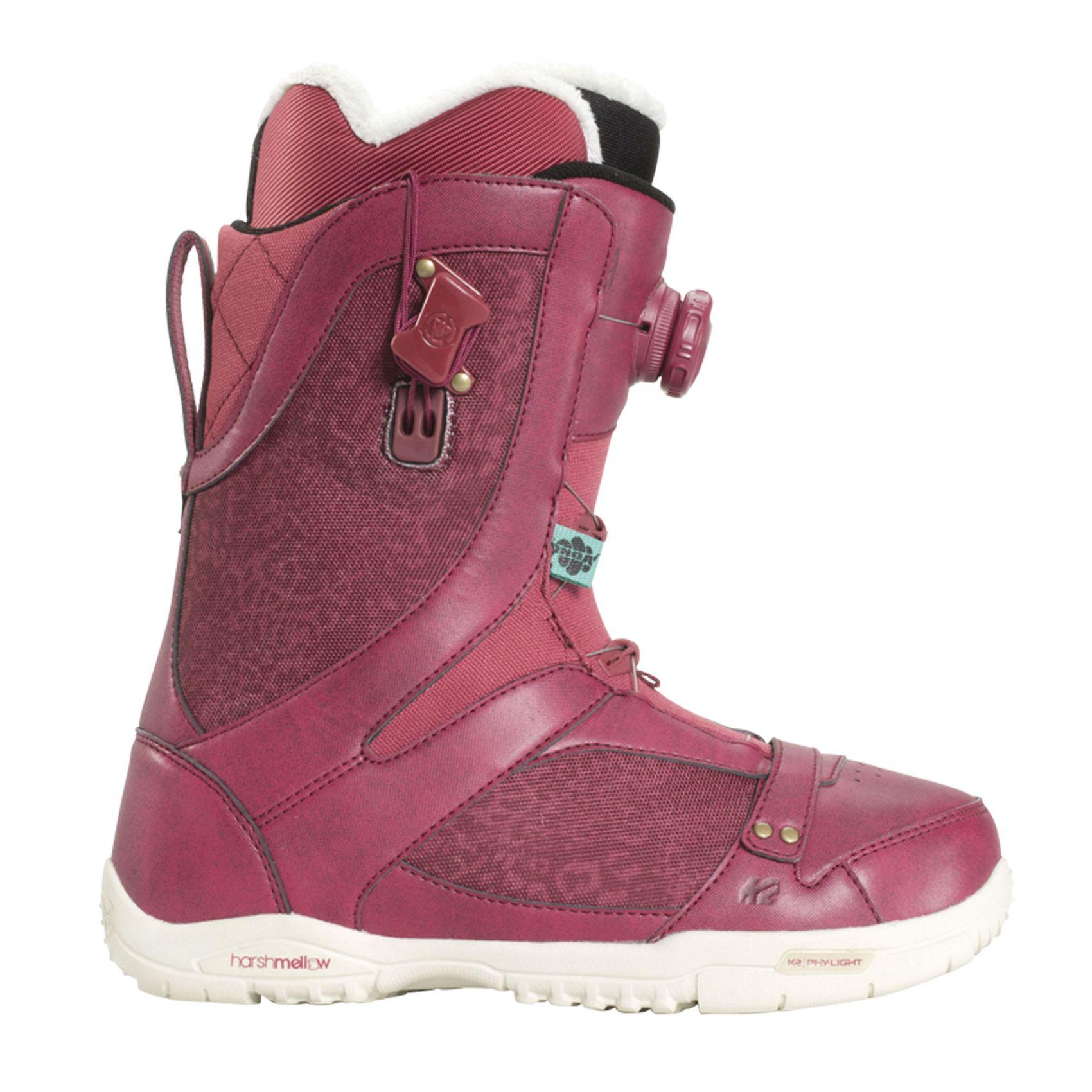 K2 Sapera burgundy Damen Gr. 5.0 US 8KleT4