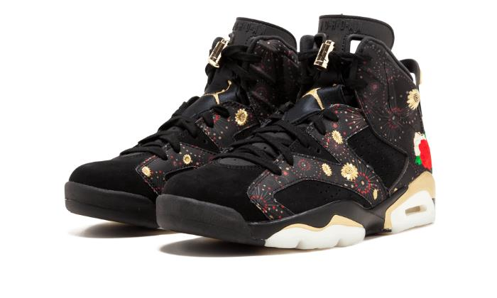 2018 de Nike Air Jordan 6 retro caballero CNY zapatos de 2018 baloncesto aa2492-021 60ca51