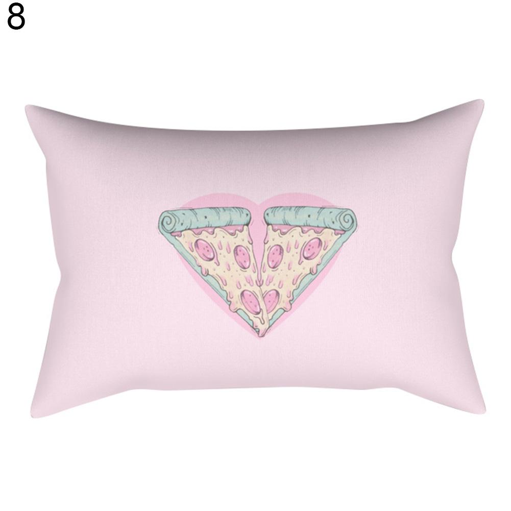 color g om trique housse d 39 oreiller chambre coucher maison de coussin divan ebay. Black Bedroom Furniture Sets. Home Design Ideas