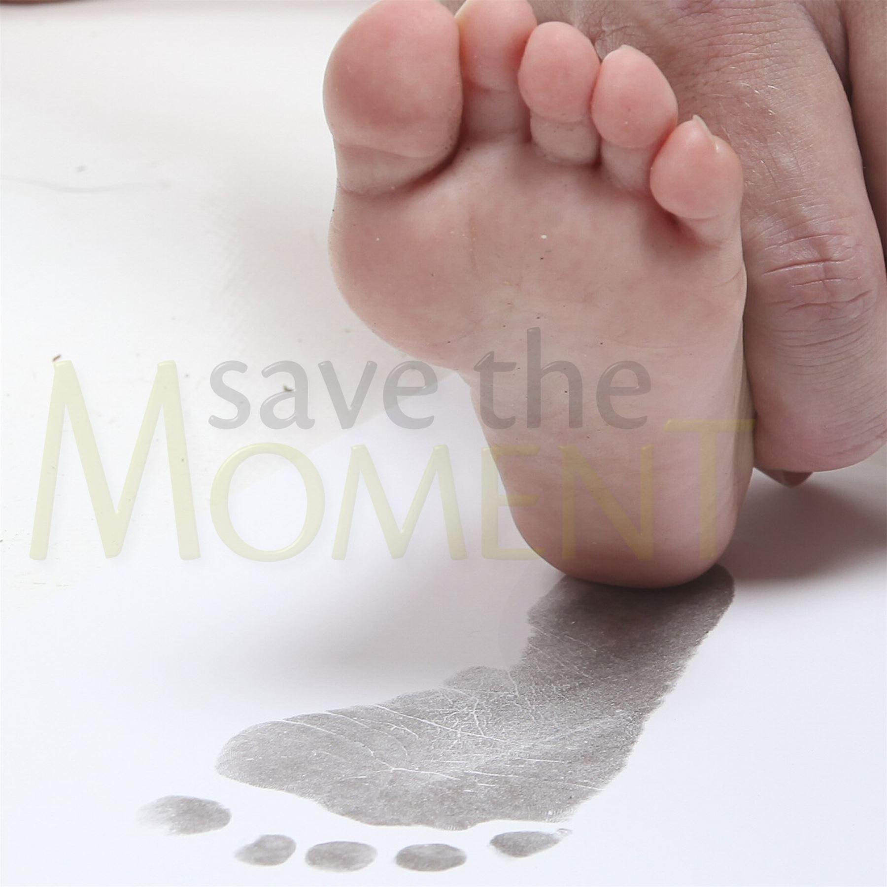Tintenlose Handabdruck Fußabdruck Baby Rahmen Karte Sets, Kind oder ...