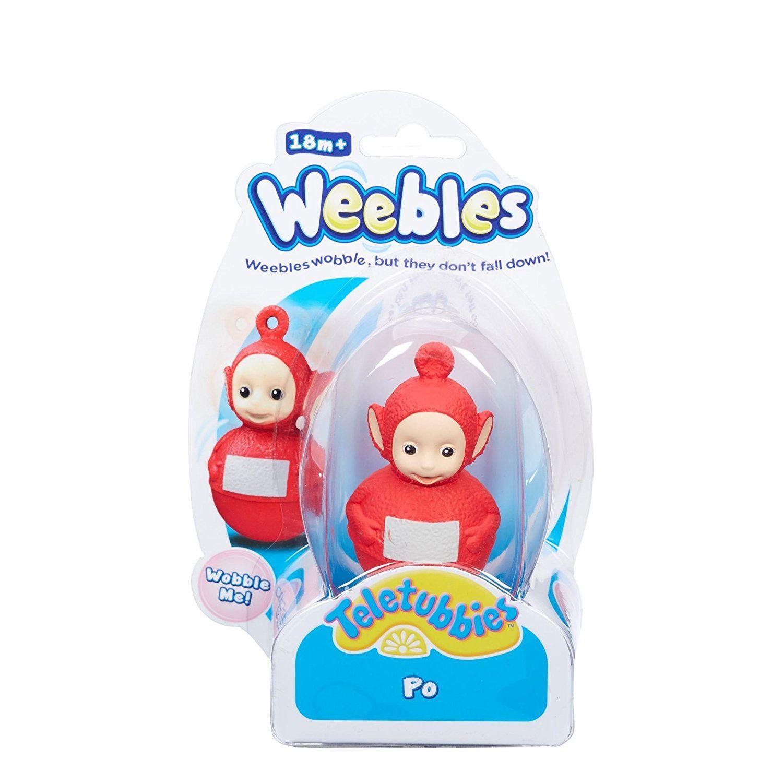 TELETUBBIES-Weebles-Weeble-Wobble-Figura-Po-Laa-Laa-Tinky-Winky-Dipsy