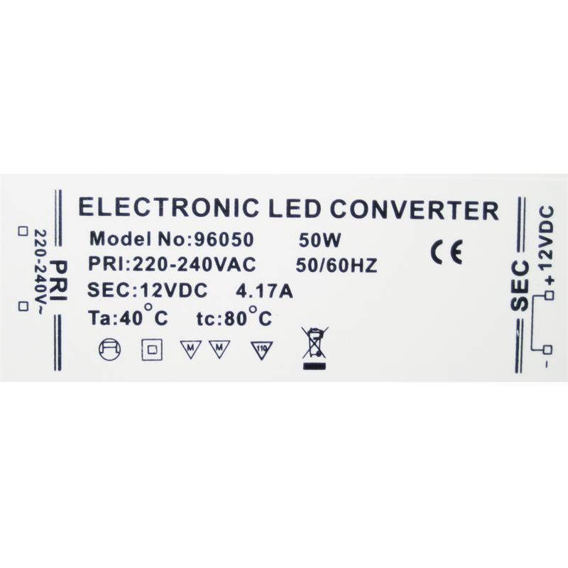 led transformer 12 volt driver ballast 12v dc electronic