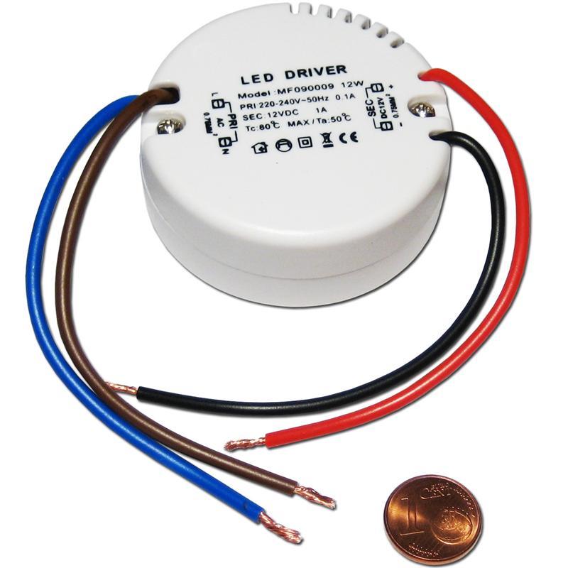 LED Transformer 12 Volt , Driver Ballast 12V DC ELECTRONIC CONTROL ...