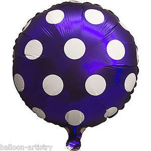 Forma-Corazon-lunares-ESPIRAL-CANDY-globos-de-Papel-Aluminio-Cumpleanos-Boda
