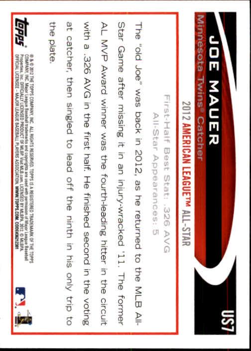 2012-Topps-Actualizacion-Beisbol-US1-US230-Usted-Recoger miniatura 11