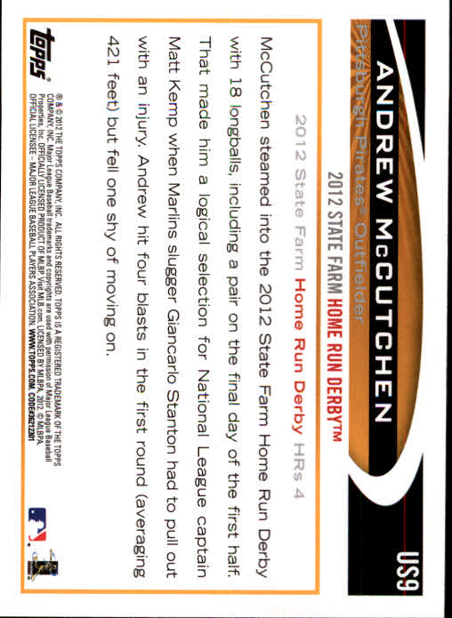 2012-Topps-Actualizacion-Beisbol-US1-US230-Usted-Recoger miniatura 15