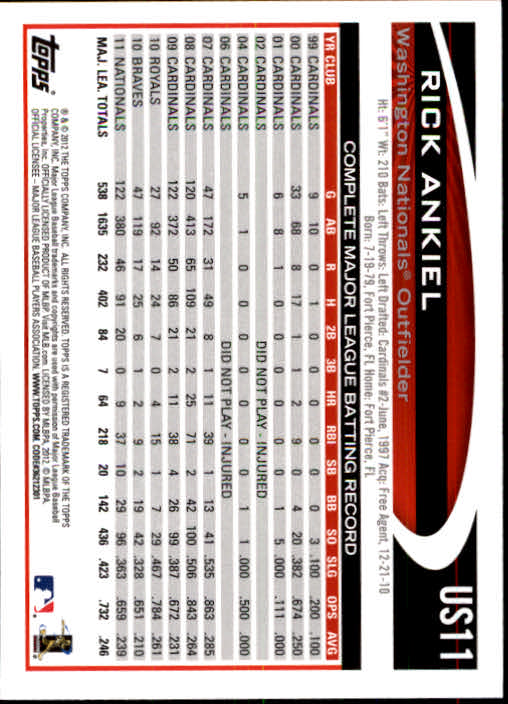 2012-Topps-Actualizacion-Beisbol-US1-US230-Usted-Recoger miniatura 17