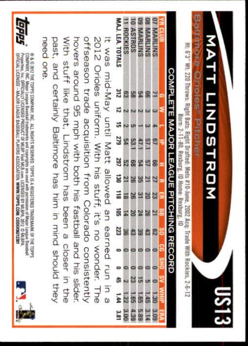 2012-Topps-Actualizacion-Beisbol-US1-US230-Usted-Recoger miniatura 21