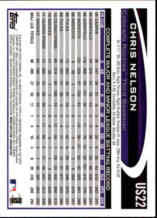 2012-Topps-Actualizacion-Beisbol-US1-US230-Usted-Recoger miniatura 32