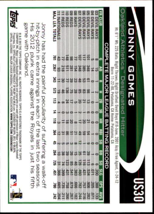 2012-Topps-Actualizacion-Beisbol-US1-US230-Usted-Recoger miniatura 44