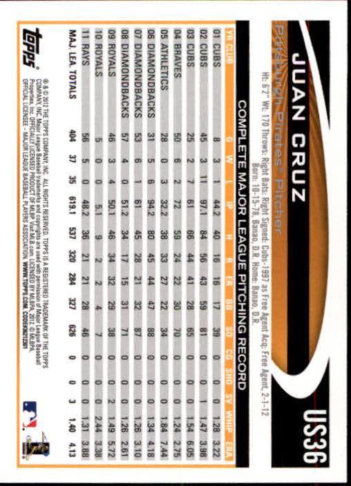 2012-Topps-Actualizacion-Beisbol-US1-US230-Usted-Recoger miniatura 54